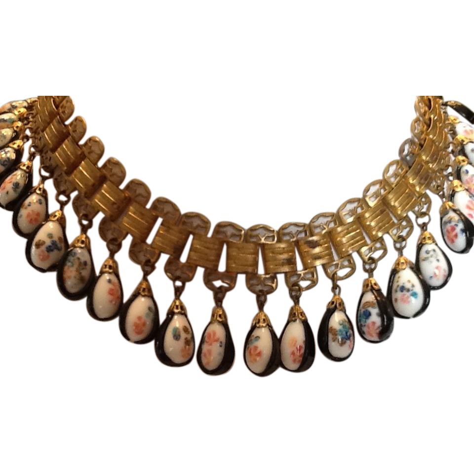 Vintage Bead Necklace 49