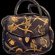 Vintage Mark Cross shoulder handbag