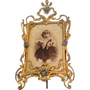 Victorian table top picture frame