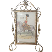 VIctorian wire picture frame