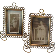 Victorian ring brass frames