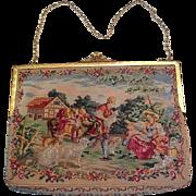 Vintage petipoint purse