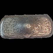 Antique Sterling eyeglass case
