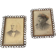 Victorian ring picture frames