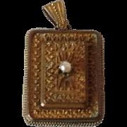 Large VIctorian locket