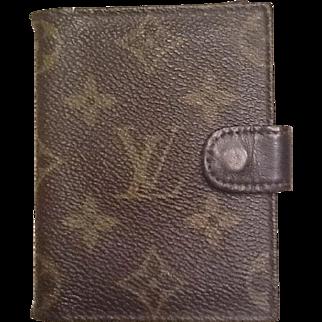 Vintage Vuitton card case