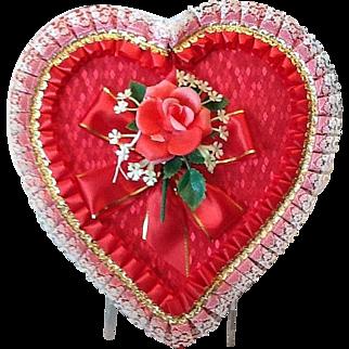 Valentine candy box unused