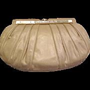 Vintage Judith Leiber snakeskin clutch