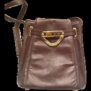 Judith Leiber snakeskin shoulderbag