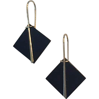 Delicate 14k wire earrings