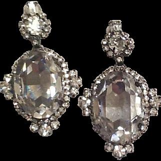 Huge Chris Moans earrings