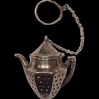 Sterling tea strainer