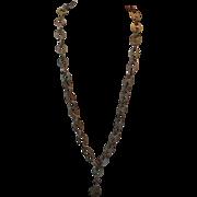 Victorian Gutta Percha necklace