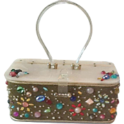 50's Plastic and Jeweled purse