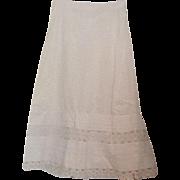 Victorian white slip