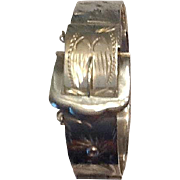 VIntage sterling buckle bracelet