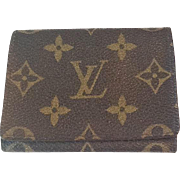 Vintage Louis Vuitton card case