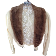Beautiful cashmere and mink sweater