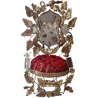 Antique French marriage ornament