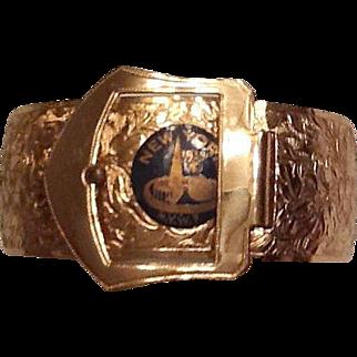 1939 Worlds Fair bracelet