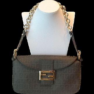 Fendi Zucca pattern handbag