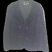 Vintage black Broadtail jacket