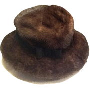 Stunning mink hat from Bergdorf Goodman