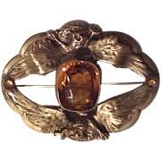 Large Victorian sash pin