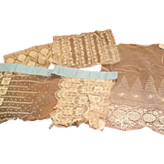 Fantastic assortment of delicate lace salesmens samples