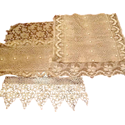 Vintage lace and net salesmens samples