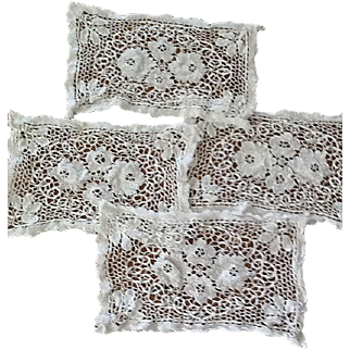 Wonderful vintage crocheted placemats