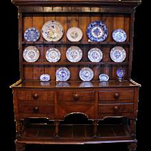 George III Oak Dresser, c. 1800