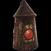 1911 Railroad Lantern Biscuit Tin