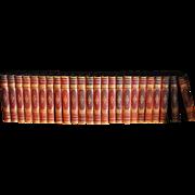 24 Volume 1879 Thackeray Set