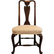 Massachusetts Queen Anne Side Chair