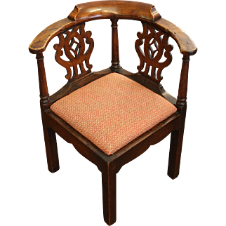 Country English Corner Chair