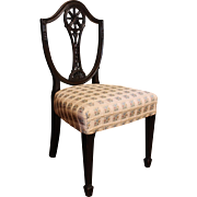19th Century Hepplewhite Style Mahogany Child's Chair