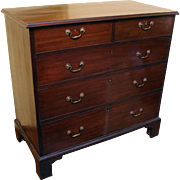 George III Straight Front Chest of Drawers