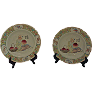 Pair of Late Qing Soup Bowls