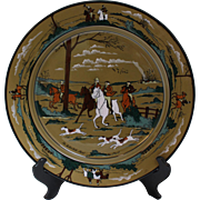 1908 Charger from Ye Buffalo Pottery