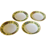 Set of 4 Sevres Soup Bowls