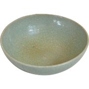Song Dynasty Celedon Bowl