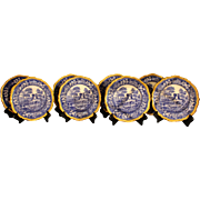 Set of 8 Copeland Plates