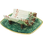 French Majolica Asparagus Server