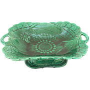 Wedgwood Majolica Sunflower Compote