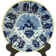 Late 18th Century Delft Plate
