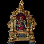 Mid-late 18th Century Italian Rococo Reliquary