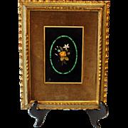 Italian Pietre Dure Mosaic