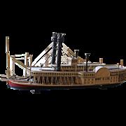 Wooden Model of the Robert E. Lee
