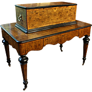 19th Century Swiss Music Box Table